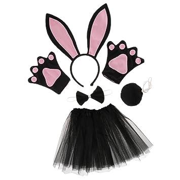 Blesiya Set de Traje para Chicas Mujeres Estilo Conejo ...
