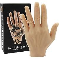 Tattoo Oefenhand - Rayyl Zachte Siliconen Hand Tattoo Oefen Nep Hand Flexibele Siliconen Handen Nep voor Tattoo…