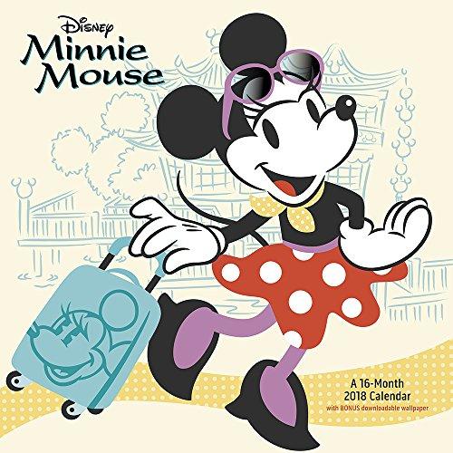 2018 Minnie Mouse Wall Calendar (Day Dream)
