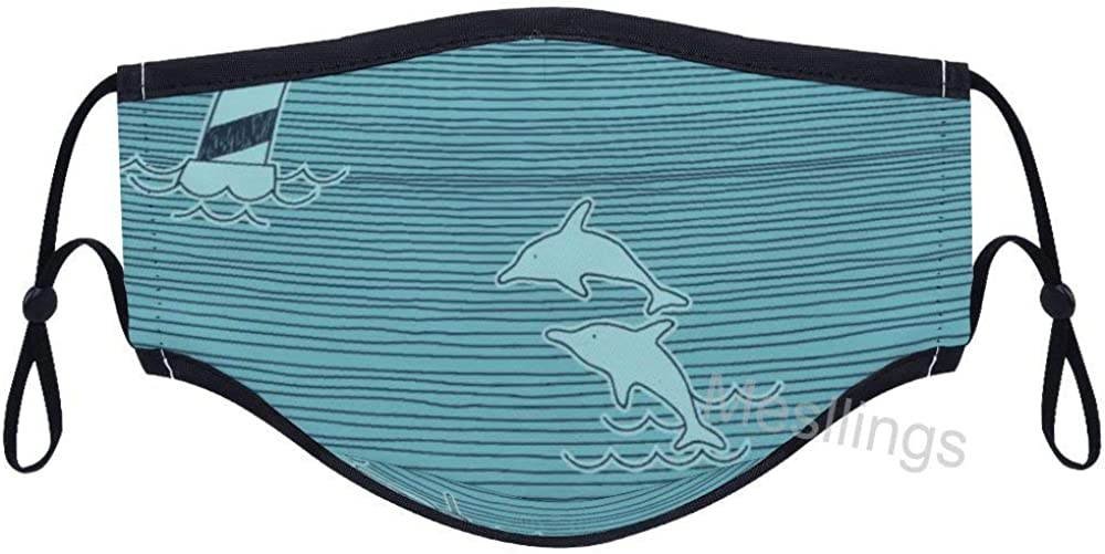 Great White Shark People Lighthouse Fashion Unisex Printed F-a-c-e Cover For Outdoors