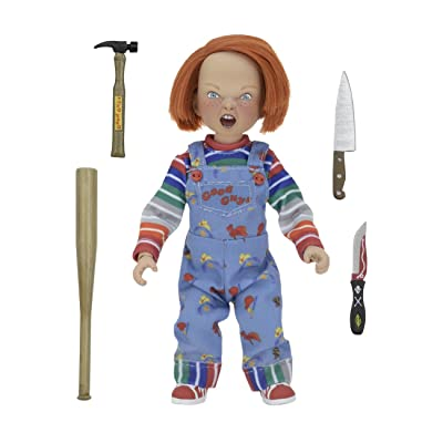 "NECA - Chucky - 8"" Scale Clothed Figure: Toys & Games"
