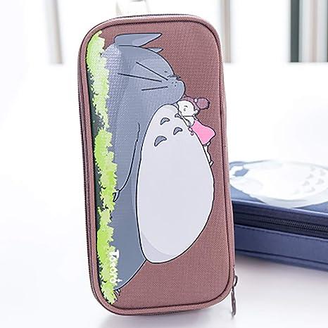 Amazon.com: U&M Anime My Neighbor Totoro - Estuches con ...