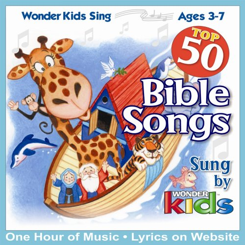 Price comparison product image Top 50 Bible Songs sung by Wonder Kids