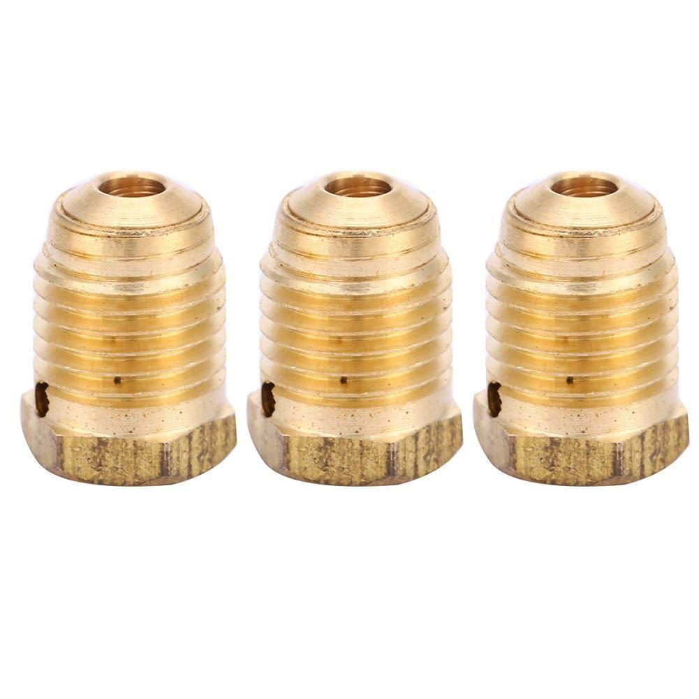 Alomejor Discos de r/áfaga 3PCS Discos de r/áfaga de Cobre unificado 3K 5K 3//8-24UNF 3000psi para el regulador del Tanque de Paintball