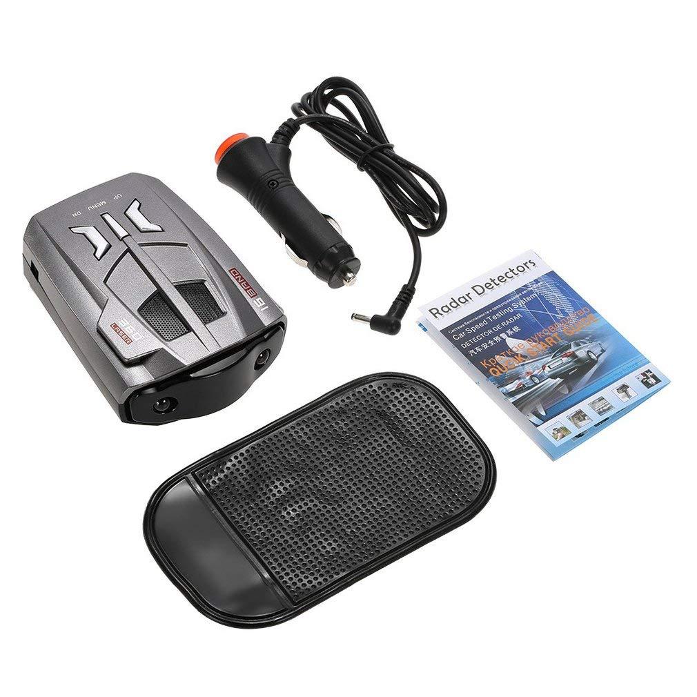 leoboone 360 ° 16 Banda de Barrido USB LED del Radar del Sistema de Prueba de Velocidad Detector de láser automático de Coches: Amazon.es: Deportes y aire ...