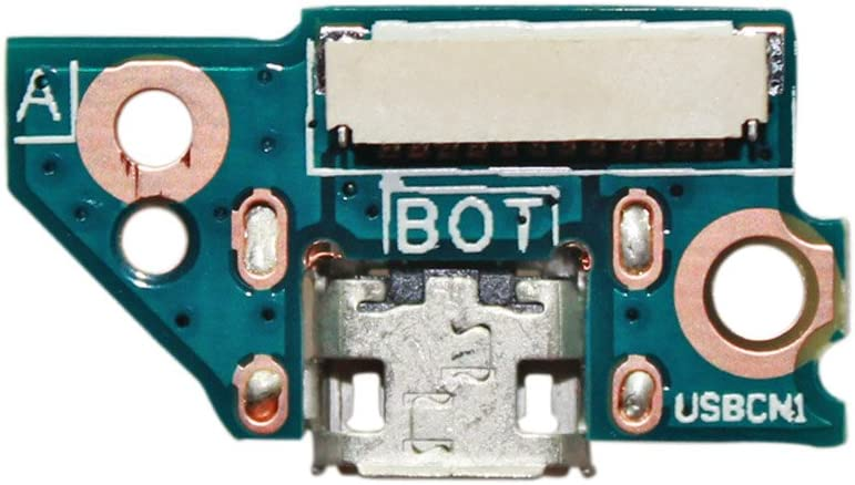 Zahara Micro USB DC Power Jack Port Board Replacement for ACER ICONIA A1-810 A1-811 48.4VL21.011