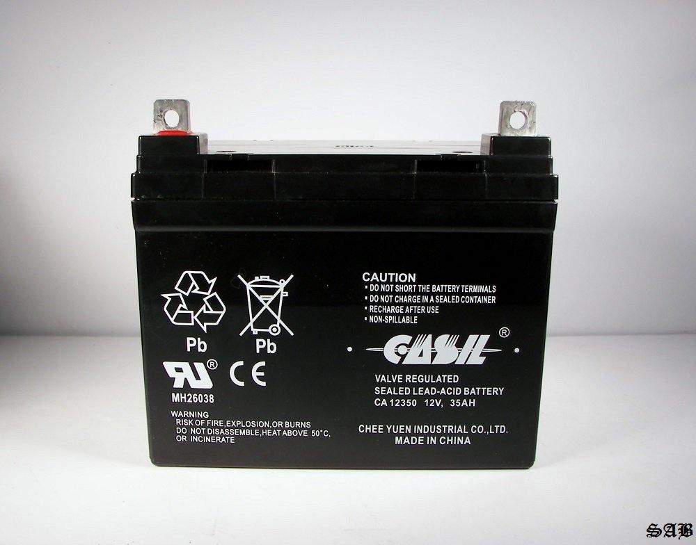 Casil ca12350 12 V 35 Ah para SLA batería para Toro tiempo ...