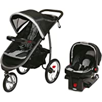 Graco Fastaction Fold Jogger Click Connect Travel System (Gotham)