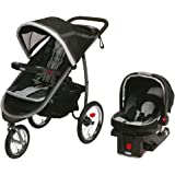 Graco Fastaction Fold Jogger Click Connect Baby Travel System, Gotham, One Size