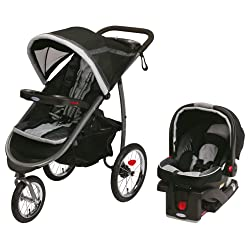 Graco Fastaction Fold Jogger Click Connect Baby Travel System