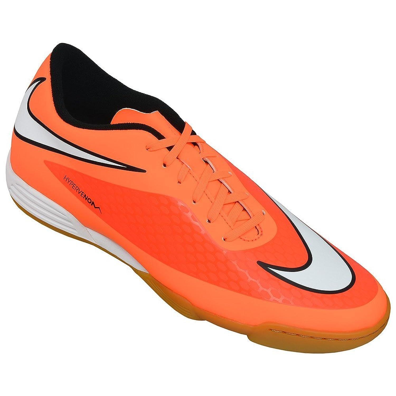Amazon.com | nike hypervenom phade IC mens indoor football boots 599810  soccer trainers (UK 10 us 11 EU 45, hyper crimson white black atomic orange  800) | ...