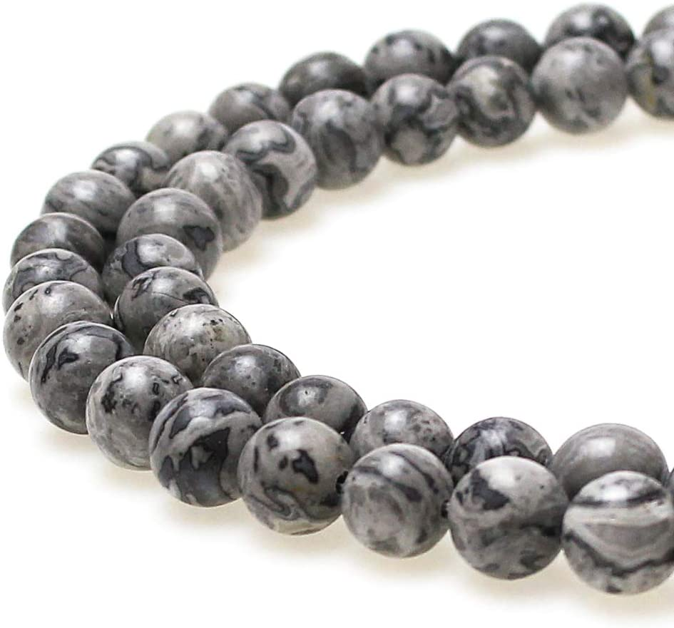 jartc Perlen F/ür Energie Armb/änder Yoga Armband Armband DIY Perlen Aquamarin 32 St/ück 34 cm 12 mm