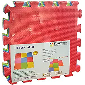 NEW KIDS BABY EVA INTERLOCKING SOFT FOAM ACTIVITY PLAY MAT SET TILES FLOOR...
