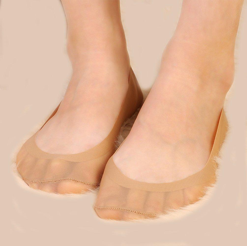 Gauss Kevin Thin Ice Silk No Show Low Cut Liner Socks Women Elastic Nylon Summer Sock Non Slip by Gauss Kevin (Image #7)