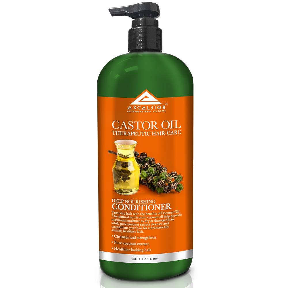 Excelsior Castor Oil Deep Nourishing Conditioner 33.8 oz. (Pack of 4)