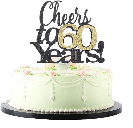 hello 60 decor 60 Something cake topper sixty cake topper happy birthday cake topper 60th party decor 60th birthday 60th party decor