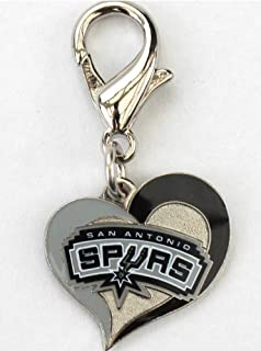 product image for Diva-Dog NBA Basketball 'San Antonio Spurs' Licensed Team Dog Collar Charm