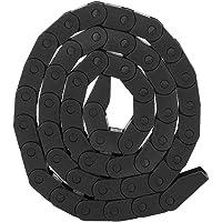 1 m R18 kabelketting, polsband, nylon, zwart, energie-kettingbrug voor 3D-printers, digitaal besturingsgereedschap (10 x…