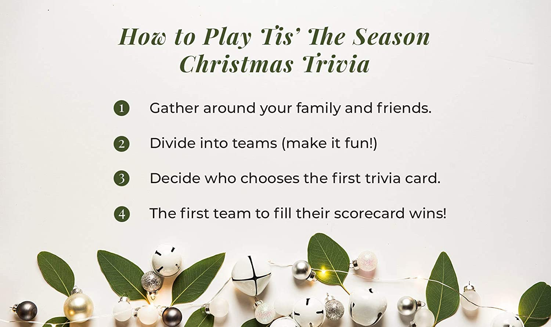 Amazon.com: Tis The Season Christmas Trivia Game - The Classic and ...
