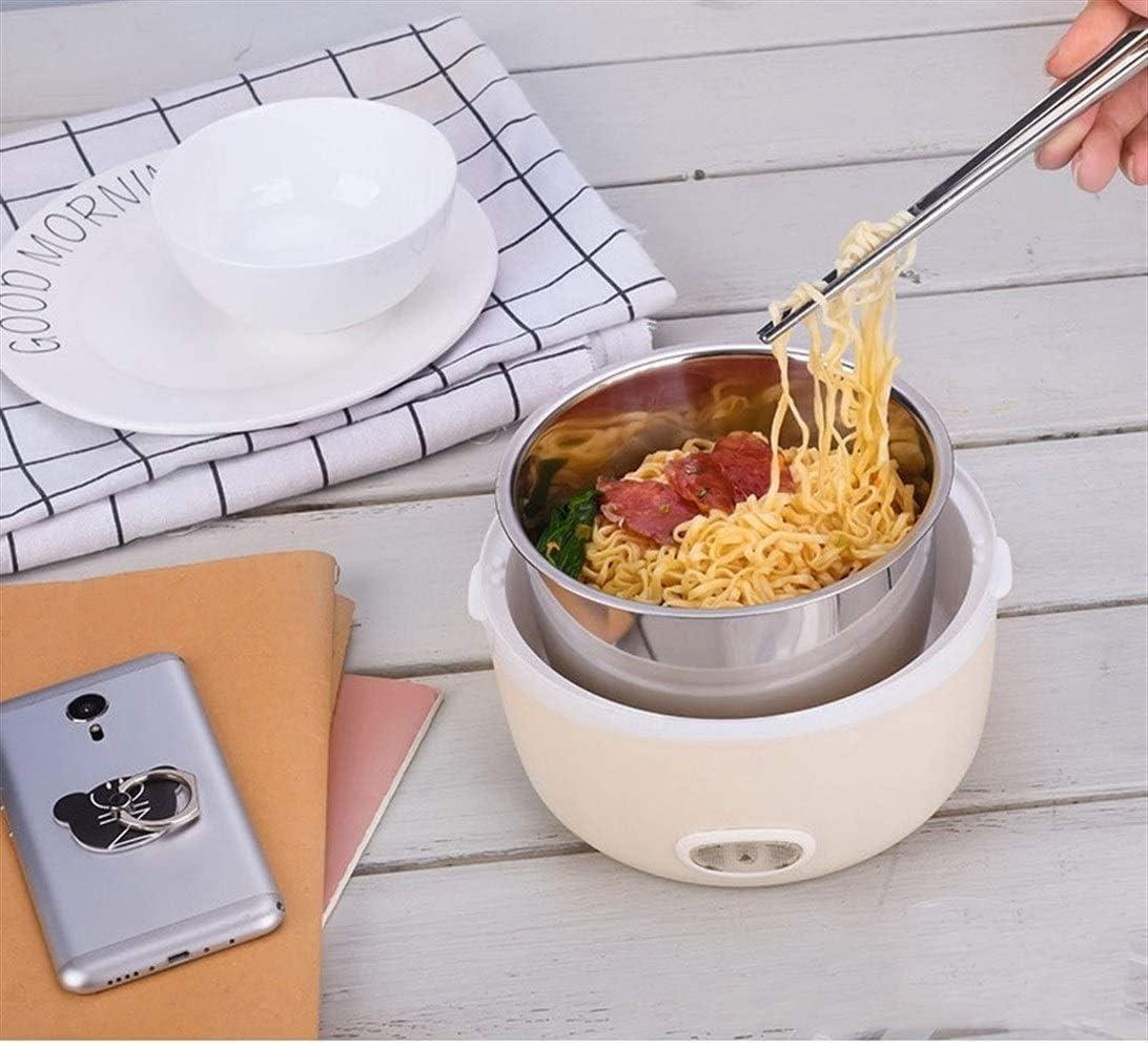 YQYL Multifunzione Lunch Box elettrica Mini fornello di Riso Elettrico Vapore Elettrico Pranzo Portatile Contenitore Vapore 1.3L Mini Piccola Scatola di Pranzo elettrica,H I