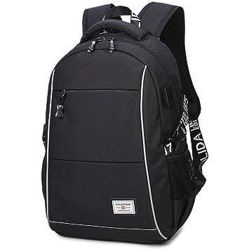 8e658de172 USB Backpack USB Charging Port 15.6 quot  Laptop Backpack