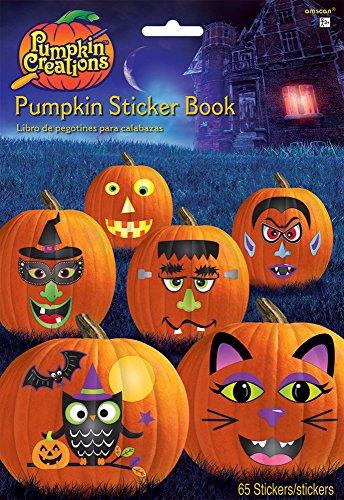 Pumpkin Carving Sticker Book ()