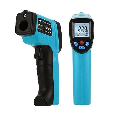 GM550 - Termómetro digital infrarrojo (rango de medición de 50 a 550 °C,