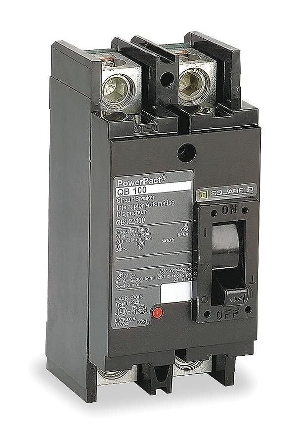 SCHNEIDER ELECTRIC 240-Volt 175-Amp QDL22175 Molded Case Circuit Breaker 600V 100A