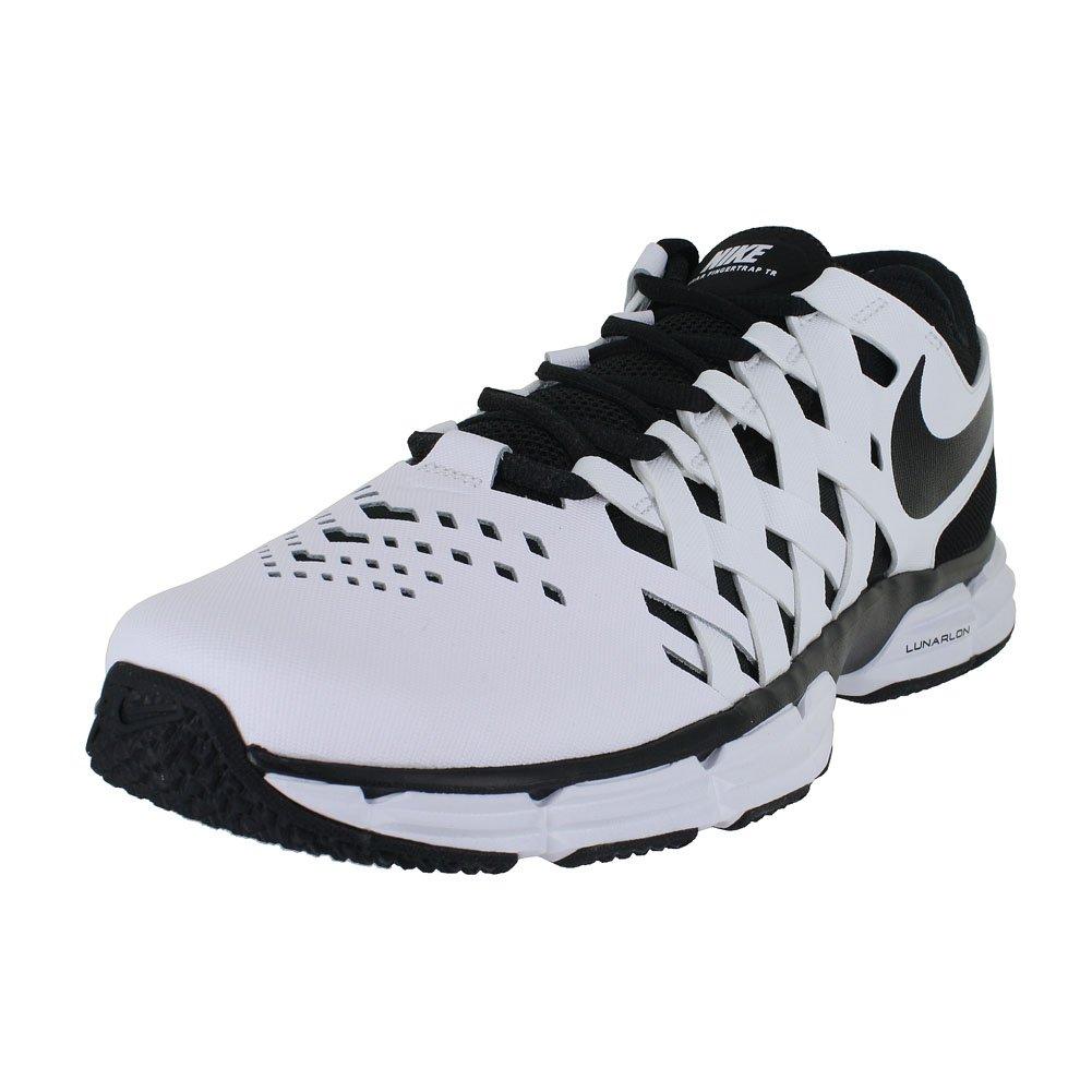 NIKE Mens Lunar Fingertrap TR 4E White Black Running Shoe Size 11 by NIKE