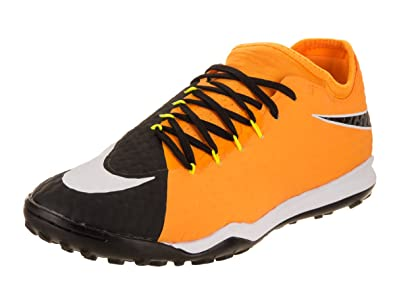 premium selection c8e7a 8252d Nike Men s Hypervenomx Finale II TF Laser Orange White Black Volt Turf  Soccer