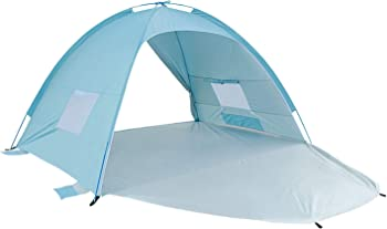 Alpika Beach Tent Sun Shelter 3-4 Person UV Protection Tent for Outdoor