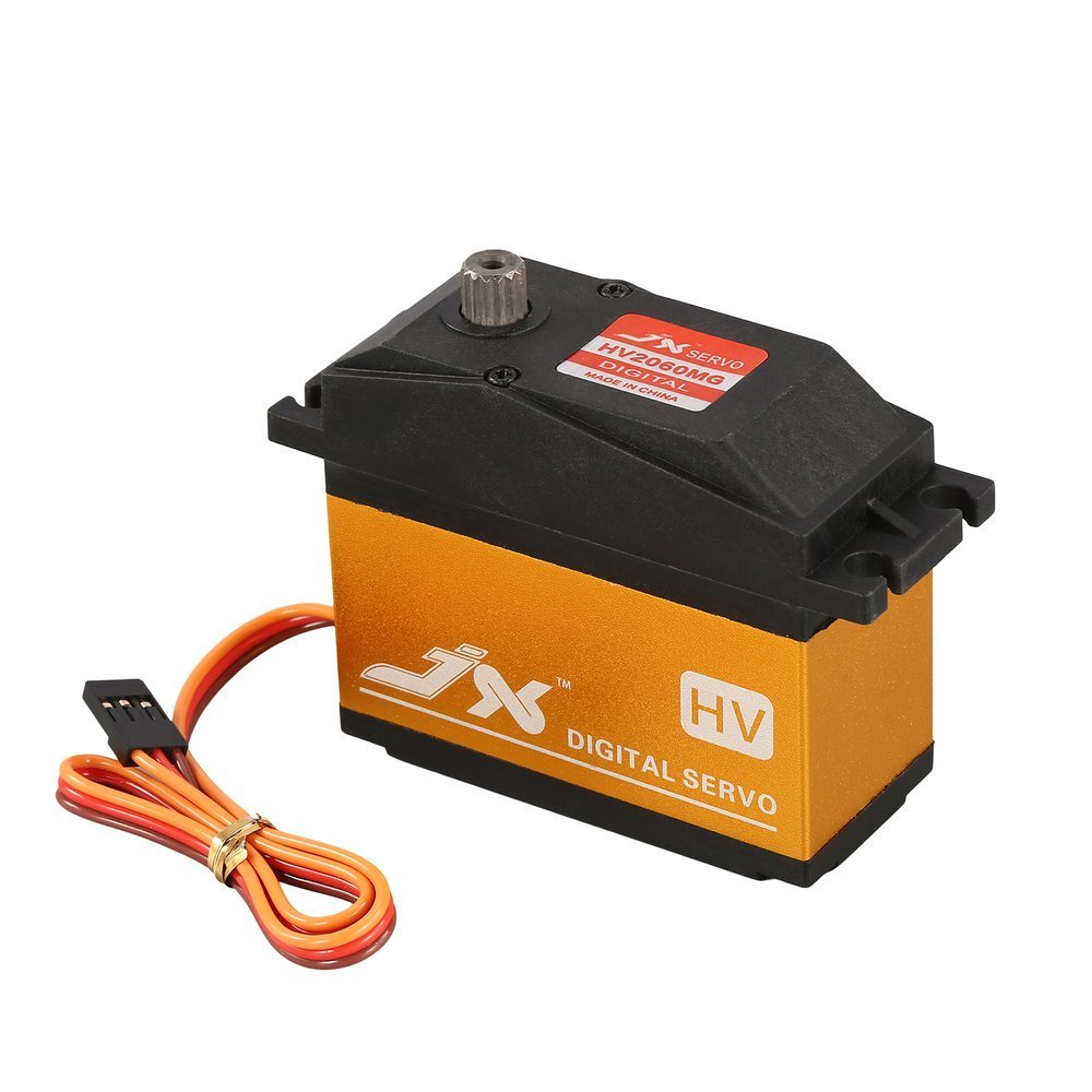 Dailyinshop JX PDI-HV2060MG 6-7.4V Metal Digital HV Servo 62kg Coreless for 1/5 RC Car