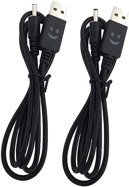 King Pin 18650 Battery Câble de Charge USB chargeur pour LED