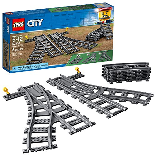 LEGO City Switch Tracks 60238 Building Kit (6 Piece)