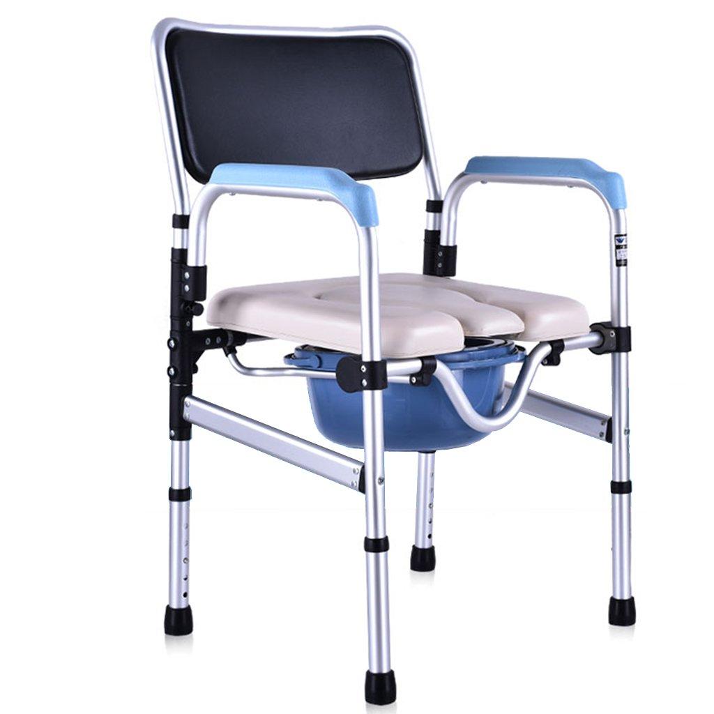 便器の椅子安全なトイレ折りたたみ可能な高さ調節可能な高齢者妊娠中の女性 B07CXZD2SX
