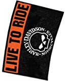 """Harley Davidson """"Willie G Live To Ride"""" Estate Flag, 28 x 40-inches"""