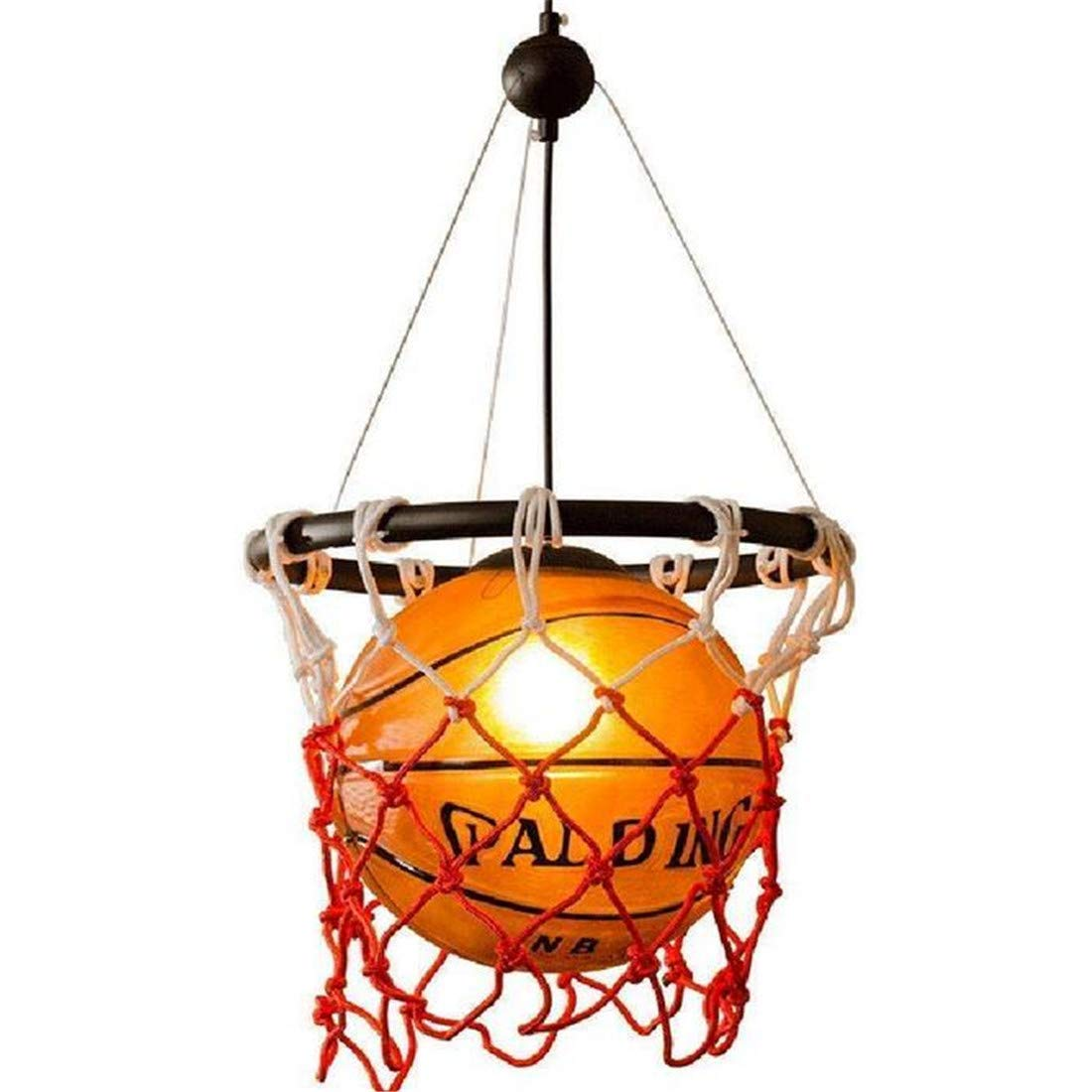 Vintage Chandelierclassic Design Basketball Kronleuchter Spaß Kinder Schlafzimmer Lampe