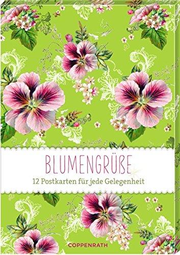 Karten-Set - Blumengrüße: 12 Postkarten für jede Gelegenheit