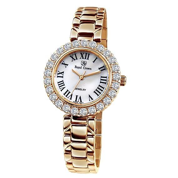 Joya de la corona de la mujer real reloj - Analógico Cuarzo 6305s: Amazon.es: Relojes