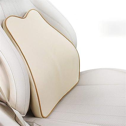 Almohada lumbar coche Travel Ease Soporte lumbar para auto Respaldo y reposacabezas Cuello almohada para cojín