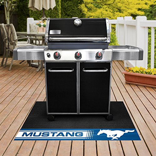 (NASCAR Ford - Mustang Horse Grill Mat, 26