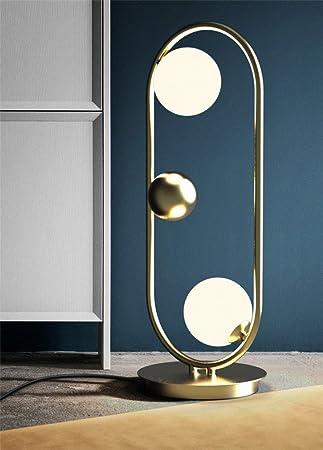 GUOPENGFEI Stehlampe Einfache Vertikale Beleuchtung Moderne Wohnzimmer  Schlafzimmer Bibliothek Kreative Persönlichkeit Stehleuchte Saturn  Ring,Golden