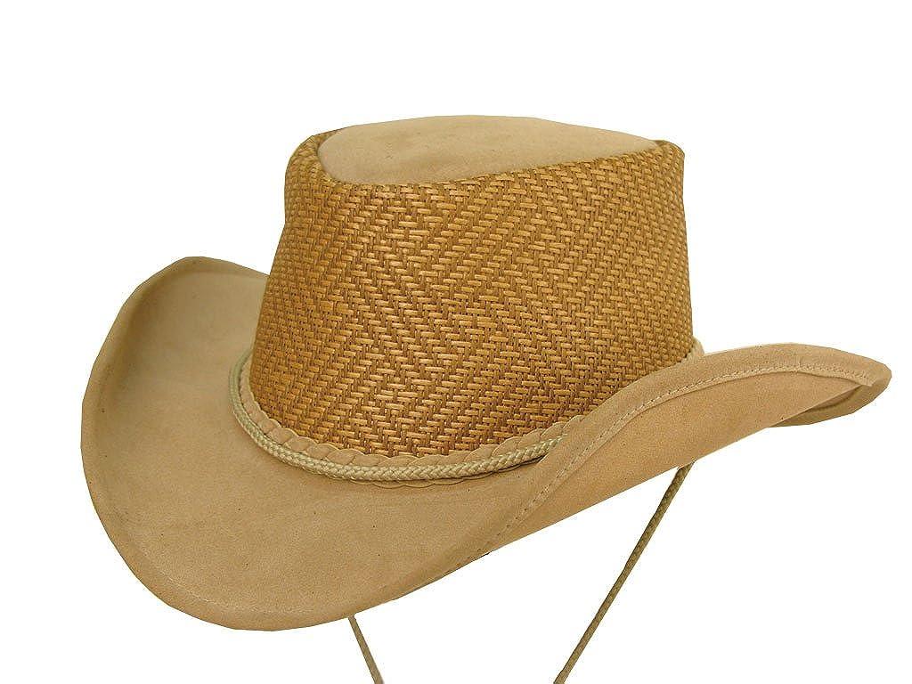 Kakadu Autralia Melaleuca Microfibre Western Hat Rust