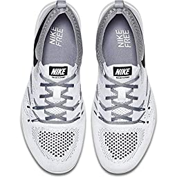 Nike Women Women\'S Nike Free Focus Flyknit Training (white / black-wolf grey) Size 6 US