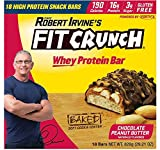 #10: FITCRUNCH Snack Size Protein Bars | Designed by Robert Irvine | World's Only 6-Layer Baked Bar | Just 3g of Sugar & Soft Cake Core (18 Snack Size Bars)