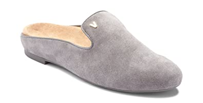 67e834a6b8c2 Vionic Women s Snug Carnegie Mule - Ladies Slip-on with Concealed Orthotic  Support Charcoal 5