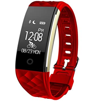 TKSTAR Montre Connectées Sport, Smartwatch Fitness Tracker Smart Bracelet avec Écran OLED Tactile Montre Intelligent