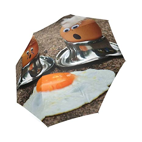 Huevo Classic paraguas resistente al viento automático paraguas de viaje compacto lluvia, ligero