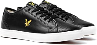 Lyle & Scott White Whitlock Perforated Trainers