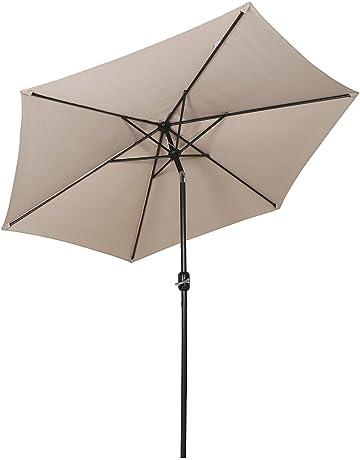 Sekey® sombrilla Parasol para terraza jardín Playa Piscina Patio diámetro  270 cm Protector Solar UV50+ 365f1bb68d4